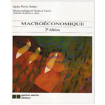 Macroéconomique, 2 édition