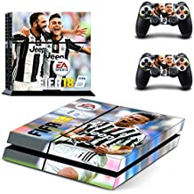 Elton Fifa - 18 (Paulo Dybala) Theme 3M Skin Sticker Cover For PS4 Console And Controllers