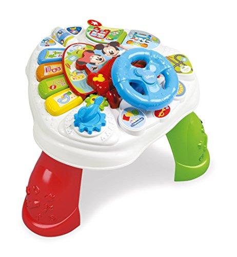 Clementoni Baby Mickey Tavolo Gioca e Impara Niño Niño/niña juguete para el aprendizaje - juguetes para el aprendizaje (Batería, 580 mm, 380 mm, 141 mm, Caja)
