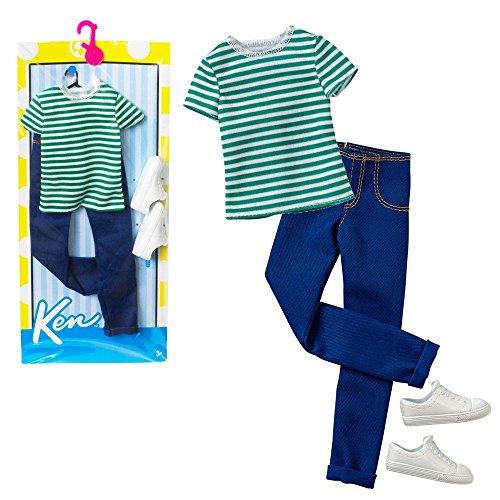 Barbie - Trend Mode für Ken Puppe Kleidung - Set Sport Freizeit
