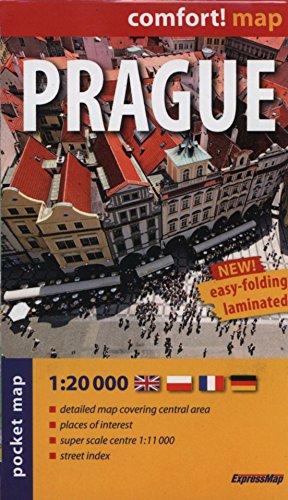 Praga 1:20.000 plano de bolsillo plastificado. ExpressMap. (Comfort ! Map)