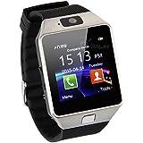 Black Dz09 Bluetooth Smart Montre Watch Montre-Bracelet avec Podomètre Anti-perdue Camera Sync avec Caméra SIM Fente pour Android IOS Smart Phone Samsung S5 / Note 2 / 3 / 4, Nexus, SONY, HTC, HUAWEI, etc
