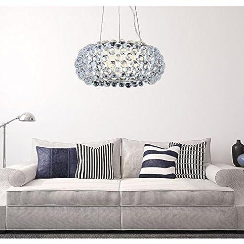 vingo 18w acryl kronleuchter modern wohnzimmer hngeleuchte leuchter deckenleuchte wohnzimmerlampe sparsame dauerbeleuchtung nest einstellbar 3in1 - Hangelampe Wohnzimmer Modern