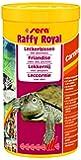sera 01736 raffy Royal 1000 ml der Leckerbissen aus naturbelassenen, schonend getrockneten Fischen (50 %) und Garnelen (50 %) für Wasserschildkröten sowie große räuberische Zierfische