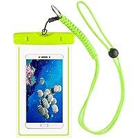 Magicmoon Waterproof Case / Custodia Impermeabile Dry Bag Pouch Cell Phone Con militare per cinghia Per Kayak Sci Slittino Vela Surf Per iPhone 6 6S Plus 5S SE Samsung Galaxy S7 S6 S5 S4, LG G4 G5 G3