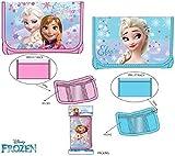 Disney Frozen Geldbeutel Anna & Elsa 2er Set Brieftasche Wallet Geldbörse Die Eiskönigin Portemonnaie