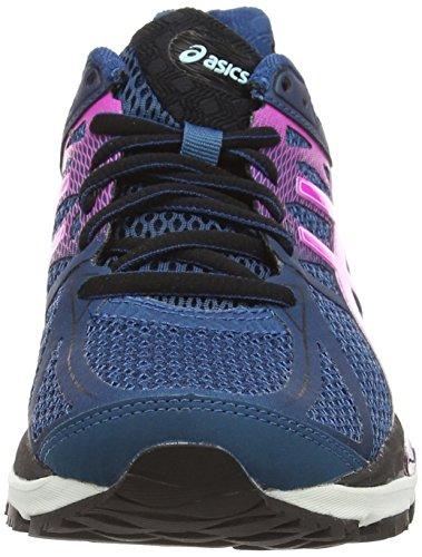 Asics Gel-cumulus 17, Chaussures de Running Entrainement Femme Bleu (mosaic blue/pink glow/onyx 5335)