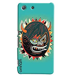 Omnam Sun In Annoying Mood Printed Designer Back Cover Case For Sony Xperia M5