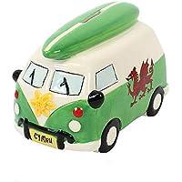 Preisvergleich für Something Different Wohnmobil-Sparbüchse mit Wales-Design (Einheitsgröße) (Grün)