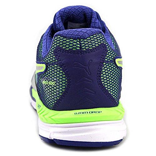 Puma Speed 600 Ignite Synthétique Baskets Green Gecko-Surf-Silver