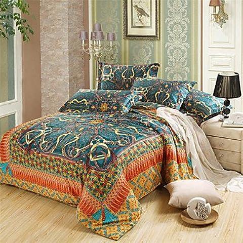 SQL 100% algodón de Egipto bedding set tamaños de cama de la reina rey . king