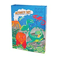 Dinosaur Activity, Craft and Colouring Set for Boys (and Girls!). Dinosaur Colouring Book Activity Set for Boys. Great Travel Activity Packs for Kids / Activity Book. Great Gifts for Boys 6 years old