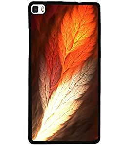 ColourCraft Printed Design Back Case Cover for HUAWEI P8