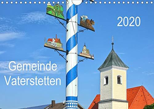 Gemeinde Vaterstetten (Wandkalender 2020 DIN A4 quer)