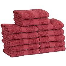 Toallas de peluquería, de algodón, pack de 24 unidades, suaves y absorbentes,
