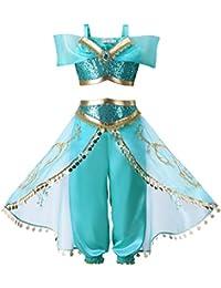 Pettigirl Niña Lentejuela Clásico Princesa Vestirse