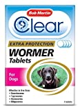 Bob Martin - Clear Extra Protection Wormer Tablets for Dogs x Size: 4 Tablets