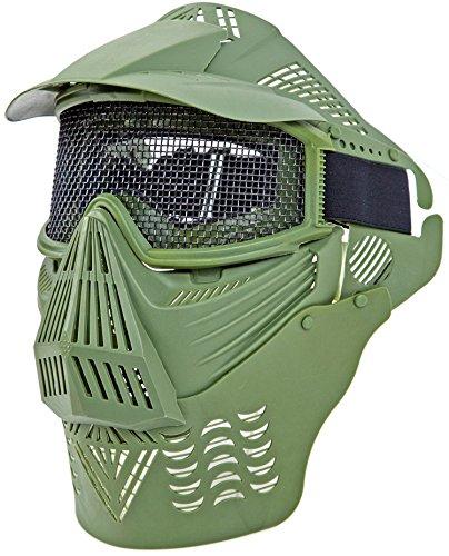 Nick and Ben Profi Softair Schutz-Maske Brille Helm