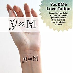 Du&ich – Liebe Tattoo – Personalisierte Tattoo