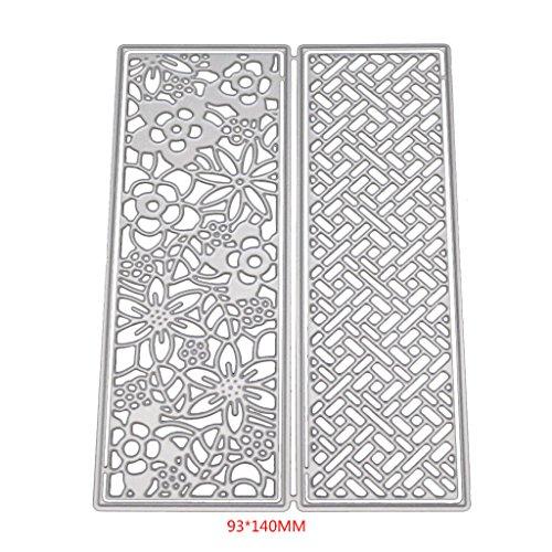 Lifet Hollow Flower Cutting Dies Stencil Scrapbooking Paper Card Craft DIY Embossing