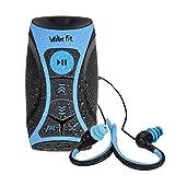 Walkerfit impermeabile Stream MP3 Player musicale con radio FM e cuffie subacquee per nuoto in acqua,...