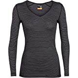 Icebreaker Damen 200 Oasis V Longsleeve Langarm Unterhemd Funktionsunterhemd