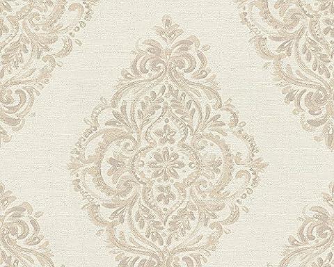 A.S. Création Tapete Around the world barock 10,05 m x 0,53 m beige braun 306952