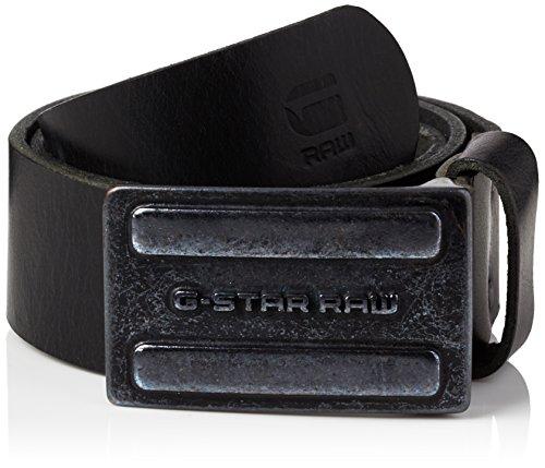 G-STAR RAW Daber Belt, Cintura Uomo, Nero (Black 990), 95 cm (Taglia Produttore: 95 Cm)