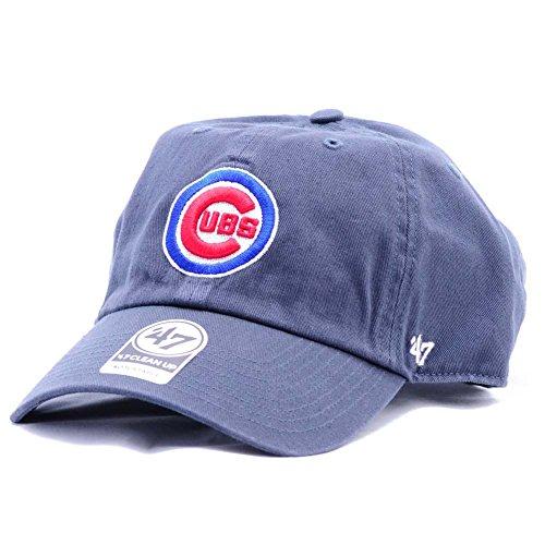 Gorra CleanUp Chicago Cubs by 47 Brand gorragorra de beisbol (talla única -  azul oscuro e28d9fd7eac
