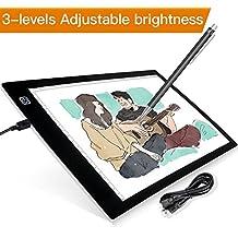 Tableta de Luz,LB-A4 Dibujo de Caja de Luz,Mesa de Luz