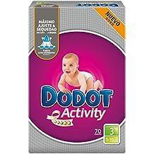 DODOT Activity pañales 5-10 kgs talla 3 paquete ...