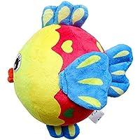 Preisvergleich für Baby-lustiges Spielzeug Baby Schöne Fische Weiche Hand Rasseln Bell Kinder Baby Funnny Crawlen Bell Ball Spielzeug Geschenk