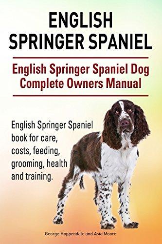 English Springer Spaniel Dog English Springer Spaniel dog book