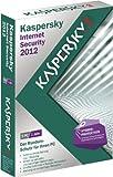 Kaspersky Internet Security 2012 5 Lizenzen (inklusive kostenlose Upgrademöglichkeit auf Version 2013)
