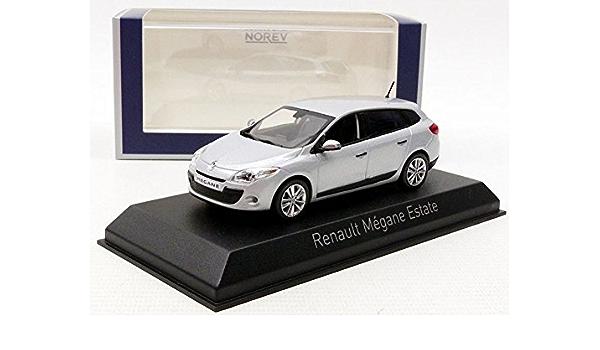 Norev 517646 Renault Megane Estate 2009 Platine Silver Spielzeug