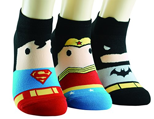 DC Comics Socken BatMan WonderWoman SuperMan