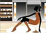Posterlounge Alu Dibond 70 x 50 cm: Midnight chill von Mandy Reinmuth
