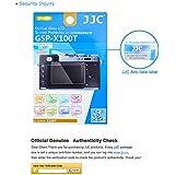 JJC GSP-RX100M3 9H 2.5D Ultra-Thin Optical Glass LCD Screen Protector for Sony DSC-RX1 RX1R RX100 RX100II RX100III RX100IV RX1RII