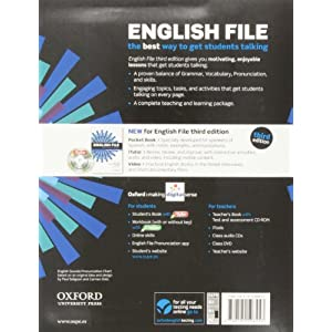 English file pre-intermediate StudentŽs Book + Printed Workbook with Key + Online Skills Practice, 3 Edition (English F