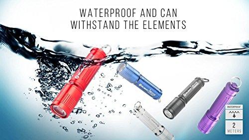 Olight® I3E EOS Mini Taschenlampe mit Schlüsselanhänger - 7