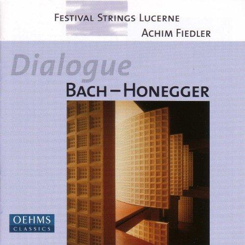 Bach: Art of Fugue (The) (Arr. for String Orchestra) / Honegger: Prelude, Arioso Et Fughette Sur Le Nom De Bach (Arr. for String Orchestra)