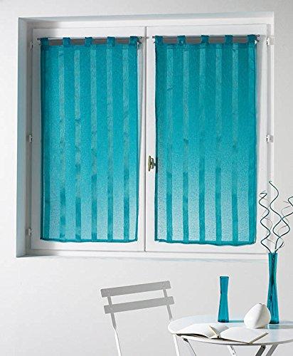 douceur-dinterieur-malta-voile-sable-raye-paire-droite-polyester-turquoise-60-x-90-cm
