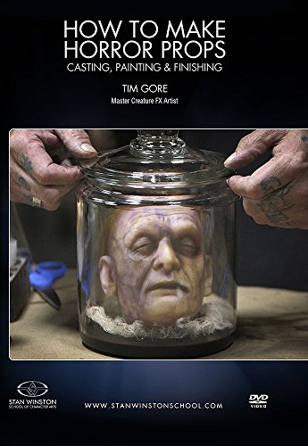 How to Make Horror Props: Casting, Painting and Finishing (Finishing Media)