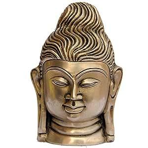 Buddha Figuren Sammlerstück Messing Statue