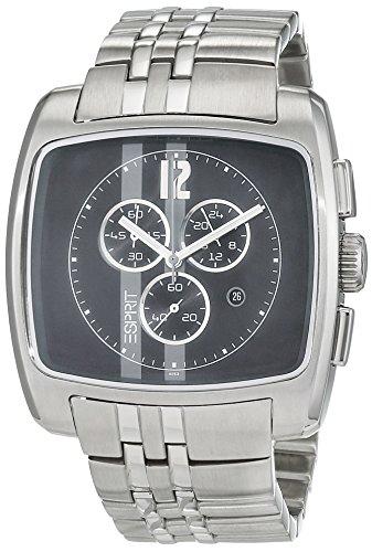 Esprit ES1EK72A6153.M11 - Reloj de Pulsera Hombre, Acero Inoxidable, Color Plateado