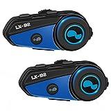 Kabellose Kopfhörer für Motorradhelm, Stereoanlage, HiFi, Gegensprechanlage, LX-B2, Lexin