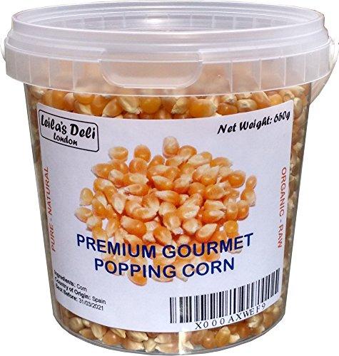 Popcorn premium Gourmet (1 x 650 g) - Parfait pour les enfants