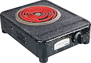 Orbon 2000-Watt G Coil Radient Cooktop / Induction Cookers / Light Weight G Coil Stove ( With Attached 2 Mtr. Cord )