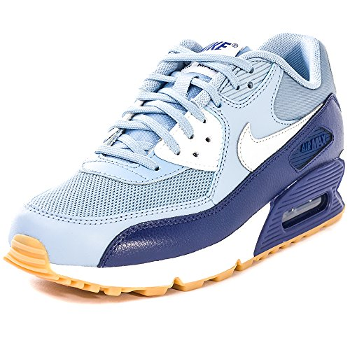 new style 9535c 0e1ca ... wholesale nike air max 90 616730 damen low top sneaker grau bl gry  69deb 733a6
