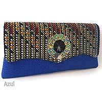 Azul - Bolsos de mano / Bolsos de mano y de ... - Amazon.es